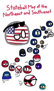 USA Coast - MAP COMPETITION