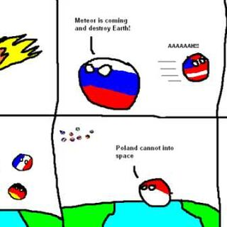 波兰不能上太空