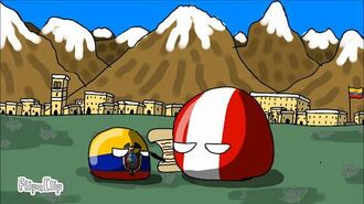 History of ecuador in countryballs