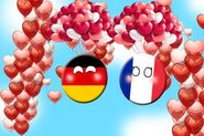 Germany and france valentines