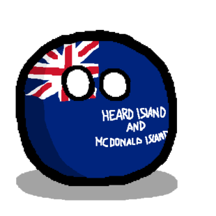 Heard Island and McDonald Islandball