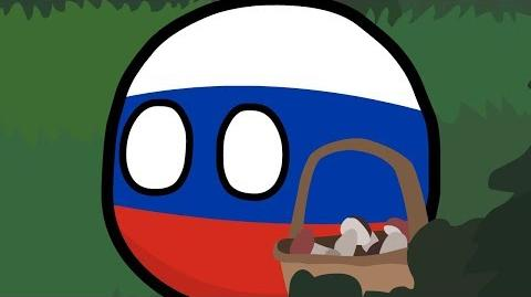 COUNTRYBALLS №19 Россия заблудилась