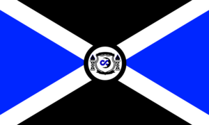 Spectral Empire Flag SMALL