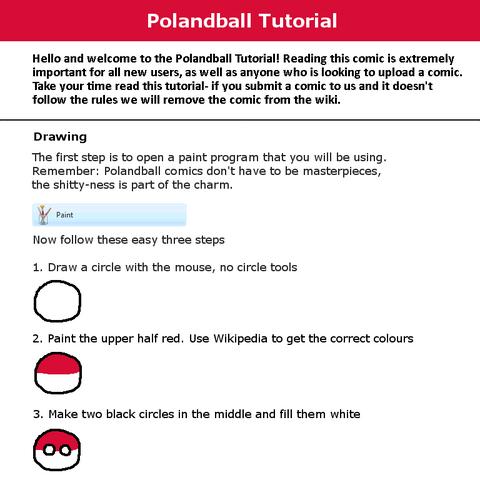Polandball Wiki's Drawing Tutorial