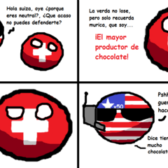 Murica y Suiza