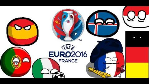 Euro 2016 in Countryballs - Part 1 The Groups