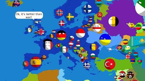 The future of Europe in countryballs