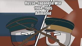 Russo-Japanese War - Animated -Countryballs-