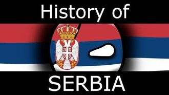 History of Serbia in COUNTRYBALLS