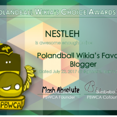 4th PBWCA Winner for Favorite Blogger