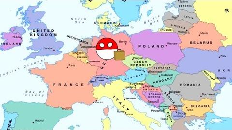 Countryball Episode 1 Poland working in Germany