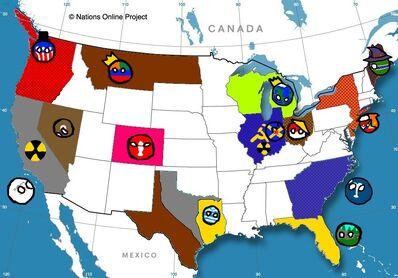 Fallen United States Mapping game (2018) | Polandball Wiki | FANDOM ...