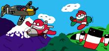 Flight of war