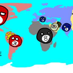 World map at 15000 BCE