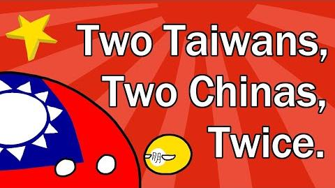 Two Taiwans, Two Chinas, Twice-1