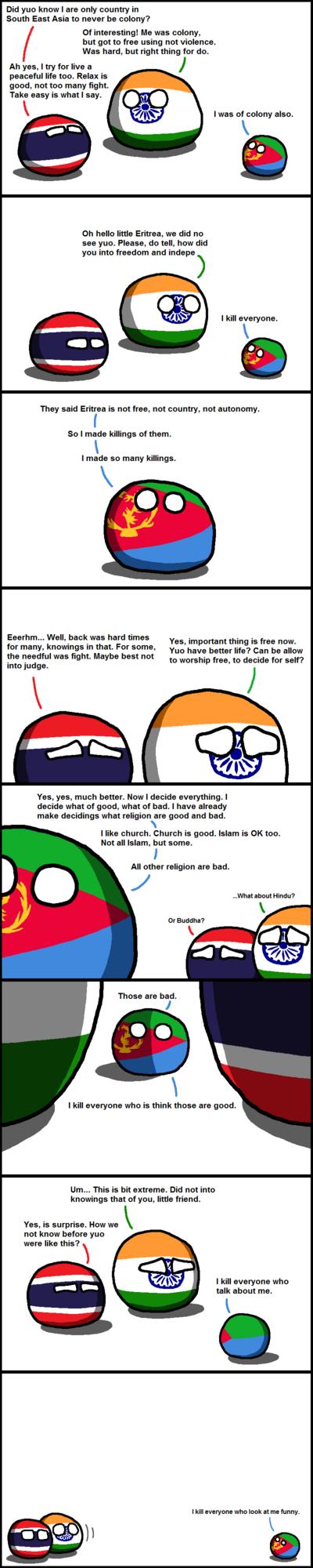 Eritrea is Batshit Crazy