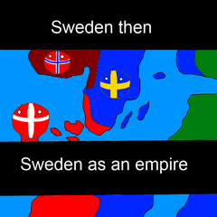 Sweden then and now