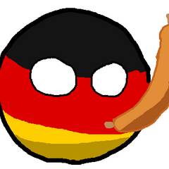 Germany with a wurst