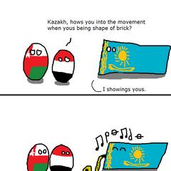Kazakhstan can into movement (Chrome87).