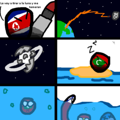 Este es el unico Comic que Bolivia tiene mar