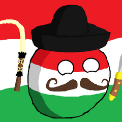 Folksy Hungaryball (bad art, I know)