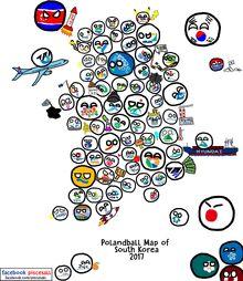 MapOfSouthKorea2017