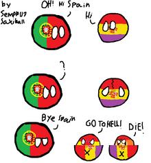 WHEN SPAIN SPLITS