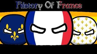 History Of France - CountryBalls