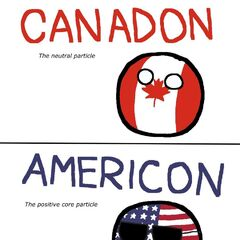 Representing an atom with North America