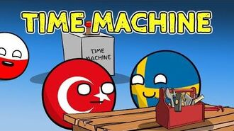 Poland in a bar - Sweden invents time machine - Countryballs