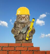 Cat-trowel-level-cat-builder-trowel-level-makes-brick-wall-120421435