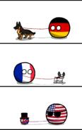 Alemania - Francia - EUA - RU - Perros