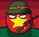 North Vietnamball