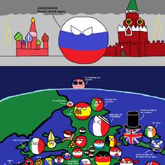 Rusia anda aterrorizando a Europa