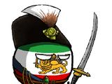 Pahlavi Iranball