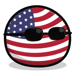 Polandball icon usaball by undevicesimus-d9b9317