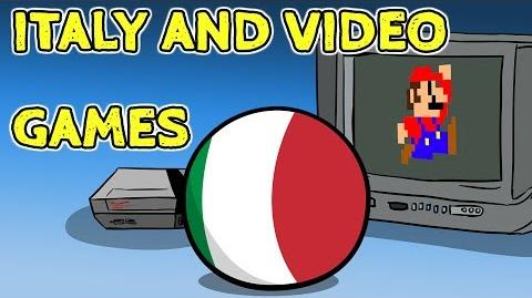 Italy meets video games - Countryballs