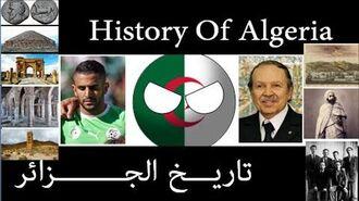History of Algeria in countryballs