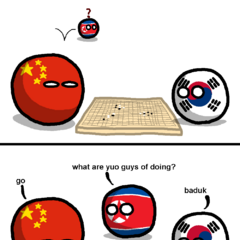 China and Korea Play a Game