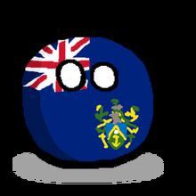 Pitcairn Islandsball