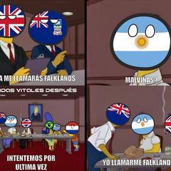 Ahora me llamaras Falklands
