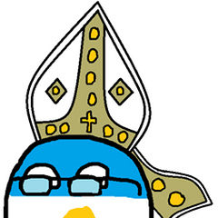 Now you must pray to His Holiness Argentinaball