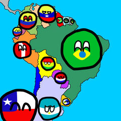 Mapa del sur
