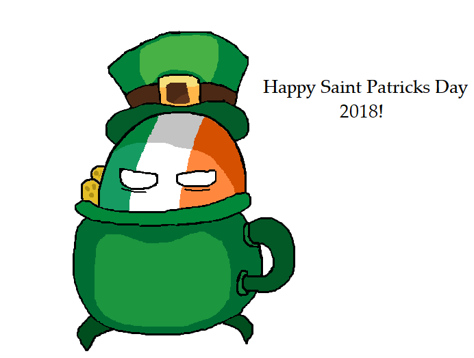 Happy Saint Patricks Day 2018!