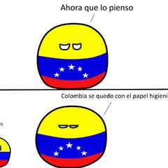 Colombia se quedo con el papel