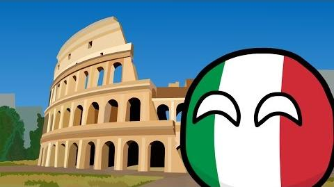 COUNTRYBALLS №17 Путешествие Италии