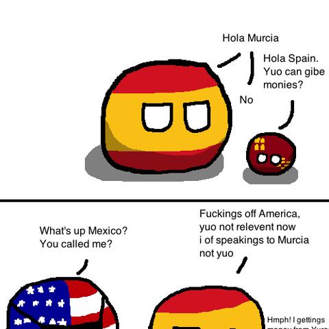 It's Murcia, not Murica