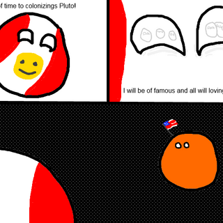 Aerican Empire cannot into Pluto