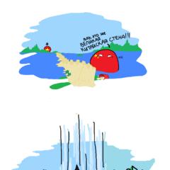 Монголия в комиксе находится в состоянии упоротости