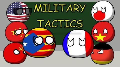 Countryballs Animated - Catalunya and military tactics - Catalonia